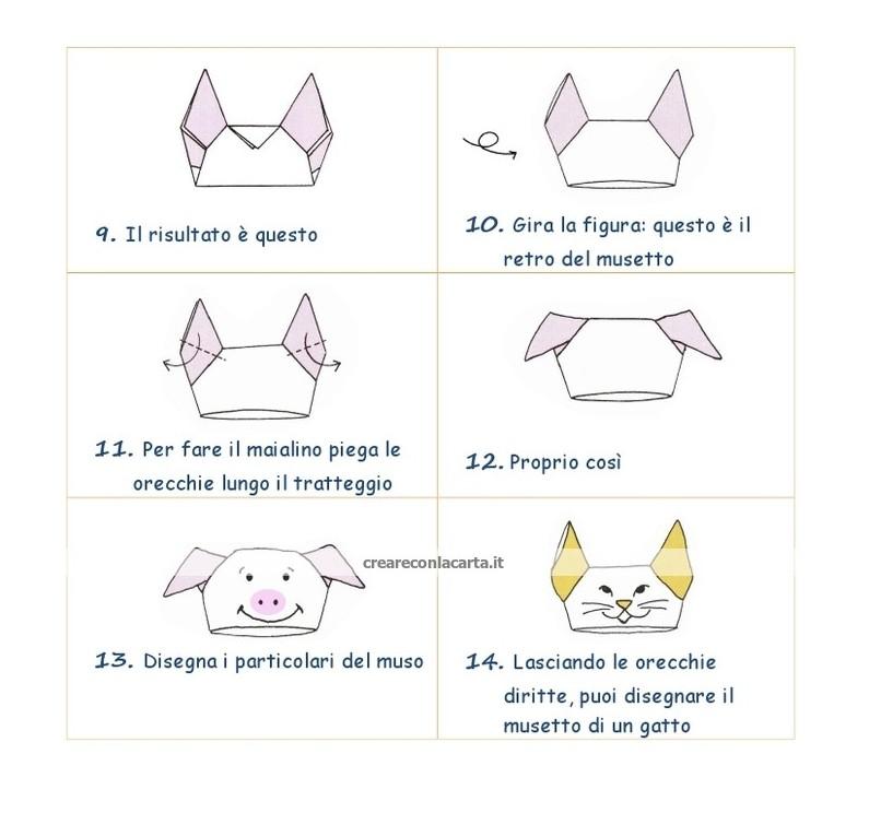 maialino origami 2
