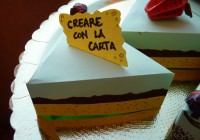 fetta torta origami