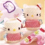 hello kitty origami 3d
