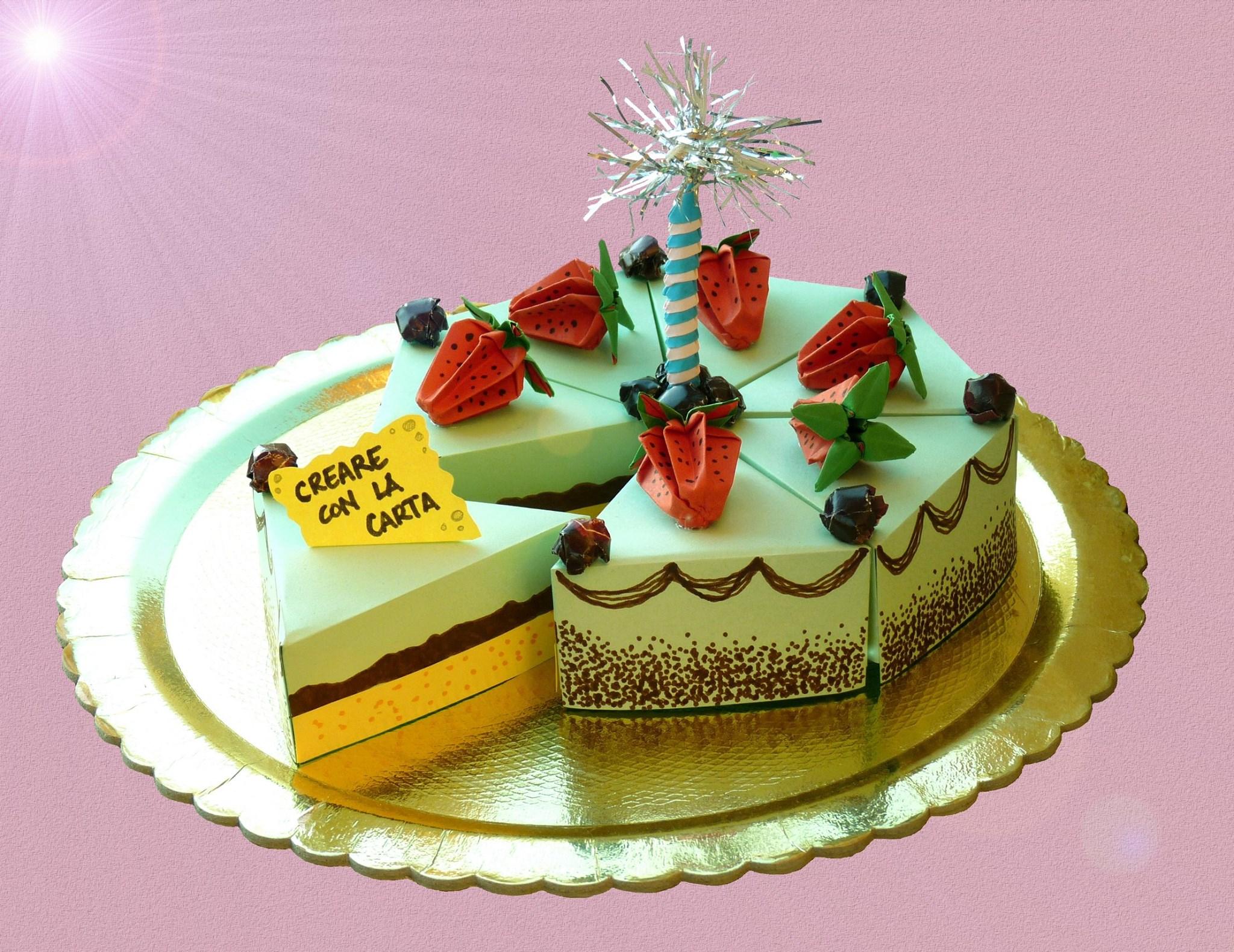 Buon Compleanno A Creare Con La Carta Gli Origami E Kirigami