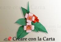 Bouquet di Fiori Origami completo