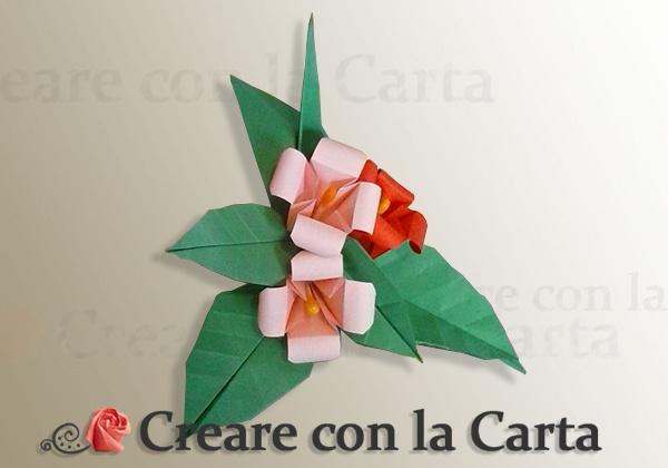 Bouquet di Fiori Origami