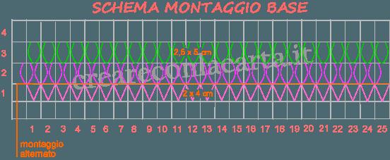 Cigno Origami 3d schema 3