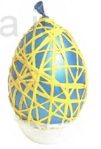 uova con carta naturale