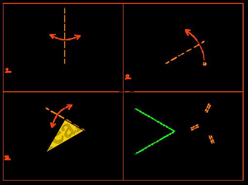 Poligoni Origami - Triangolo