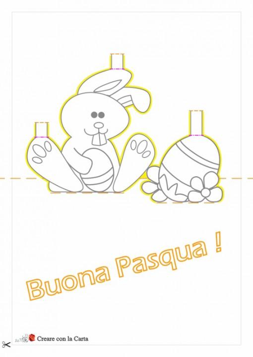 coniglietto pasquale Schema2
