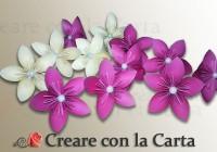 fiore 5 petali kusudama parte1